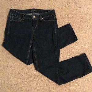WHBM Contour Slim Leg Jean